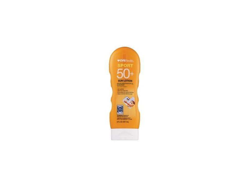 CVS Health Sport Clear Sunscreen Lotion SPF 50