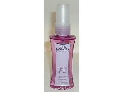 Body Fantasies Body Spray - Japanese Cherry Blossom, Travel Size 1.7 oz.