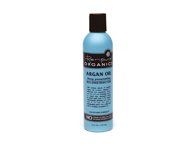 Renpure Organics Argan Oil Deep Penetrating Reconstructor, 8 Ounce