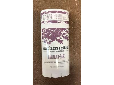 Schmidt's Deodorant Stick, Lavender & Sage, 3.25 oz - Image 3