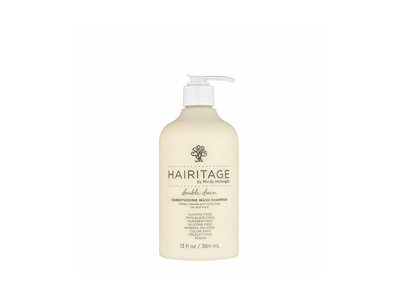 Hairitage By Mindy Mc Knight Double Down Conditioning Wash Shampoo, 13 fl oz / 384ml