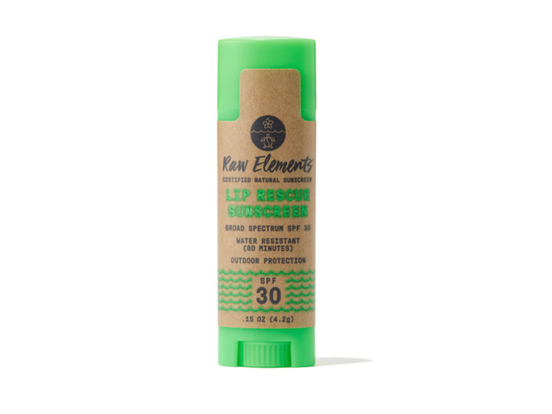 Raw Elements Lip Rescue SPF 30, .15 oz