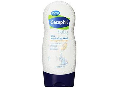 Cetaphil Baby Ultra Moisturizing Wash with Organic Calendula, 7.8 Fluid Ounce