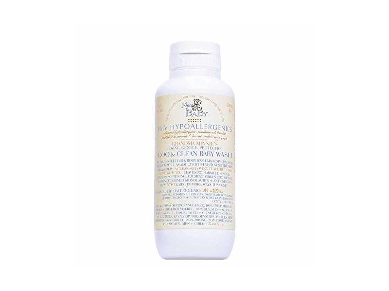 VMV Hypoallergenics Coo & Clean Baby Wash, 8.45 fl oz