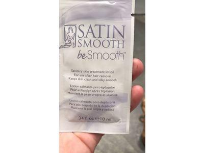 Satin Smooth Be Smooth Sanitary Skin Treatment Lotion, 0.34 fl oz - Image 3