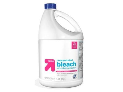 Up & Up Concentrated Bleach, Unscented, 121 fl oz