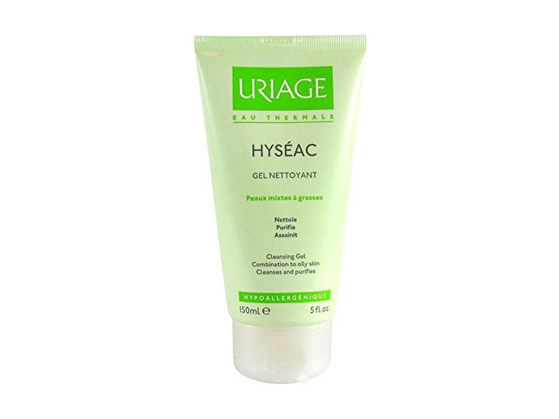Uriage Eau Thermale Hyseac Cleansing Gel, 150 mL