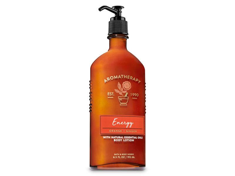 Bath & Body Works Aromatherapy Energy Orange + Ginger Body Lotion, 8.5 fl oz