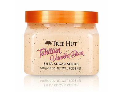Tree Hut Tahitian Vanilla Bean Shea Sugar Scrub, 18 oz