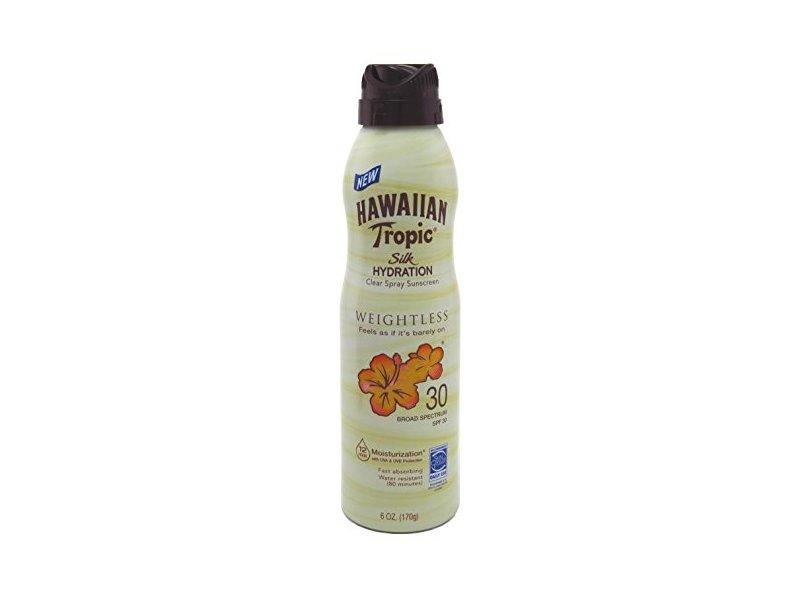 Hawaiian Tropic Silk Hydration Spf 30 Spray, 6 Ounce