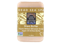 One With Nature Dead Sea Mineral Shea Butter Soap, 7 oz - Image 2