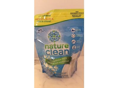 Nature Clean Automatic Dishwasher Pacs, Unscented, 24 count. - Image 9