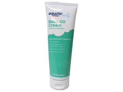 Equate Aloe & Vitamin E Baby Oil Cream, 8 oz