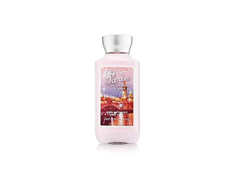 Bath & Body Works Shea & Vitamin E Lotion, Paris Pink Champagne & Tulips, 8 fl oz