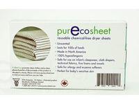 PurEcoSheet Static Eliminator Reusable Dryer Sheets, Chemical Free, 2 Count (500+ Loads) - Image 3