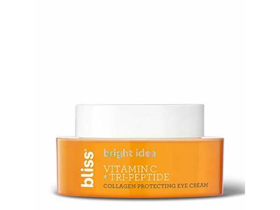 Bliss Bright Idea Vitamin C & Tri-Peptide Collagen Protecting Eye Cream, .05 oz