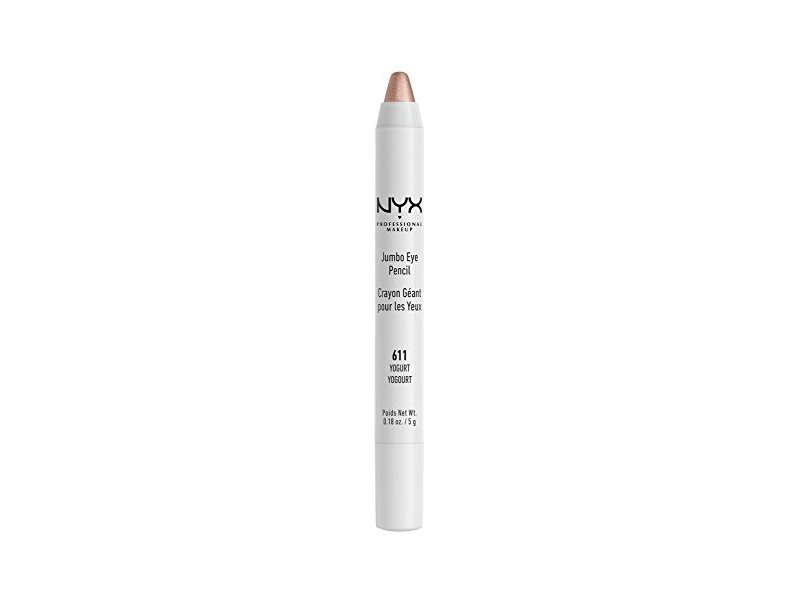 NYX Professional Makeup Jumbo Eye Pencil, Yogurt, 0.18 Ounce