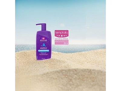 Aussie Mega Moist Shampoo, 33.8 Fluid Ounce - Image 8