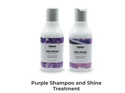 Tonal Balance Anti-Brass Purple Shampoo & Shine Treatment, 6.7 fl oz