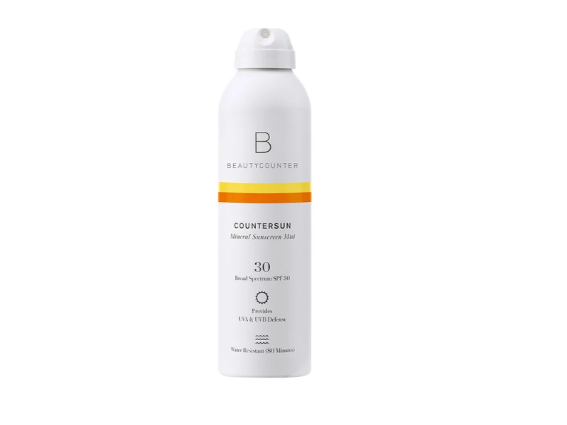 Beautycounter Countersun Mineral Sunscreen Mist SPF 30 Travel Size, 3.0 fl oz/89 mL