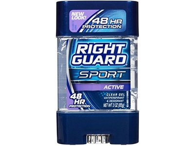 Right Guard Sport Clear Gel Active, 88ml