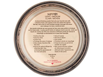 NYX Cosmetics Mineral Finishing Powder, Light/Medium, 0.28 oz - Image 4