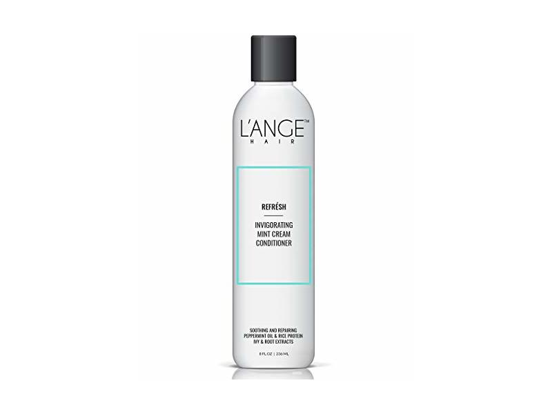 L'ange Hair Refresh Invigorating Mint Cream Conditioner, 8 Ounce