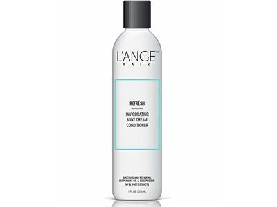 L'ange Hair Refresh Invigorating Mint Cream Conditioner, 8 Ounce