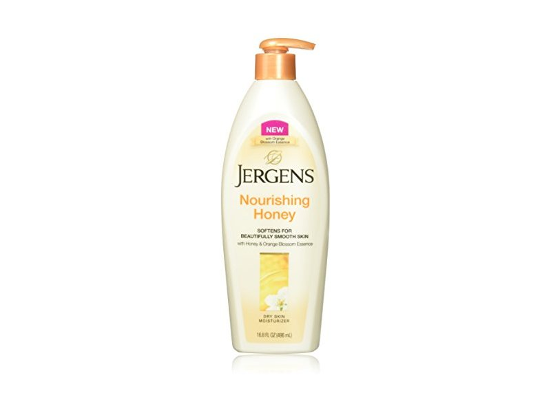 Jergens Nourishing Honey Lotion, 16.8 Fluid Ounce (Pack of 4)