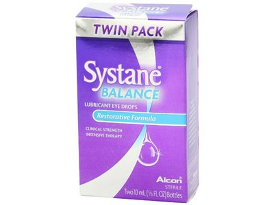 Systane Balance Lubricant Eye Drops, Twin Pack, 10-mL Each - Image 12