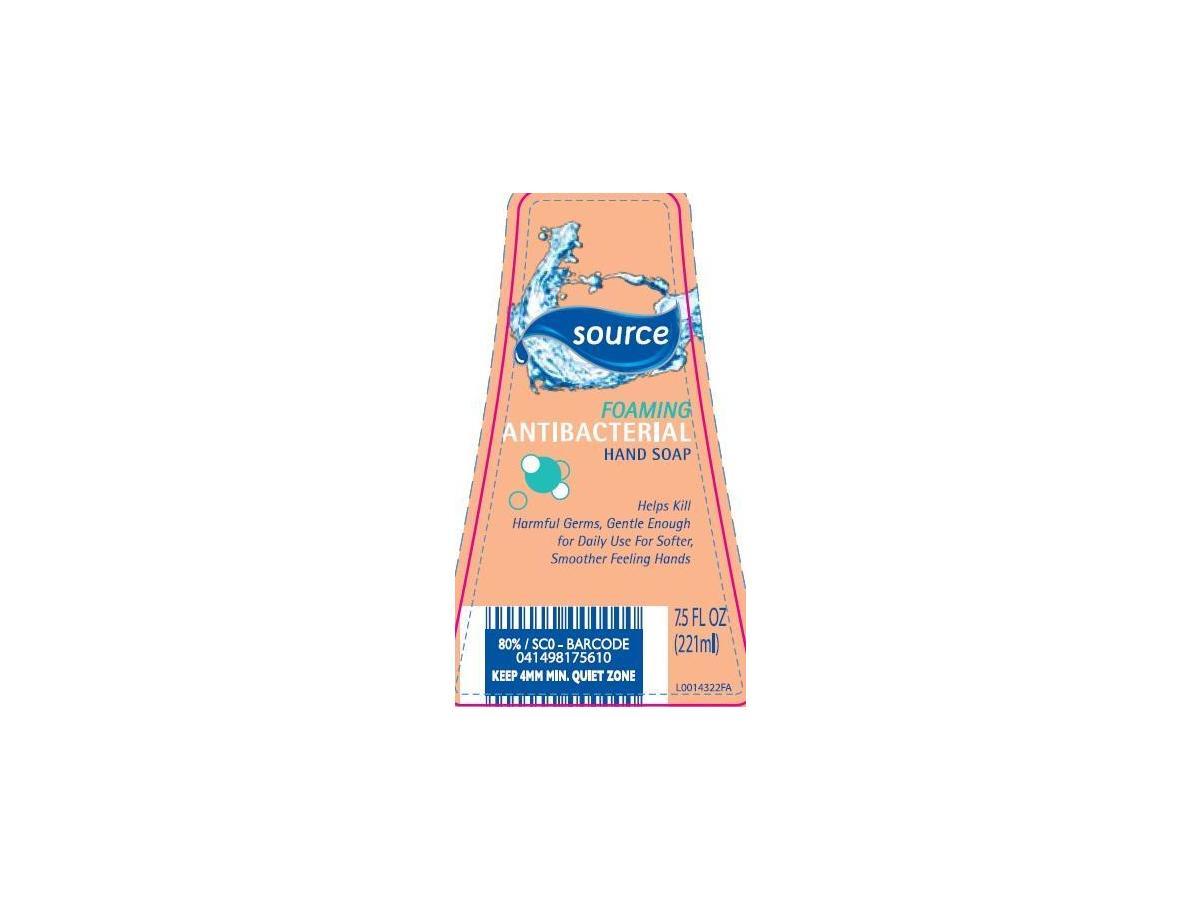 Aldi Us Source Foaming Antibacterial Hand Soap Fragrance