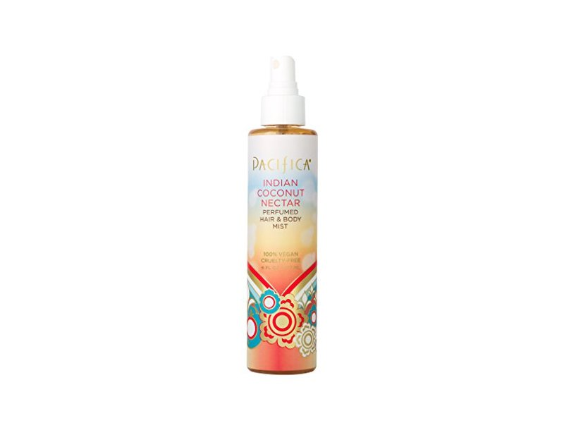 Pacifica Beauty Indian Coconut Nectar Perfumed Hair & Body Mist, Indian Coconut Nectar, 6 Fl Oz
