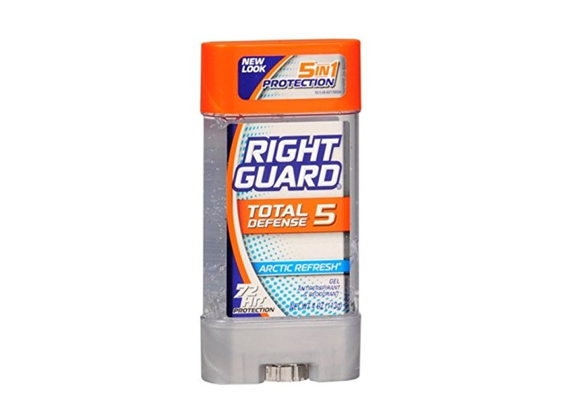 Right Guard Total Defense Power Gel Anti-Perspirant Deodorant, Arctic Refresh, 4-Ounce Tube (Pack of 6)