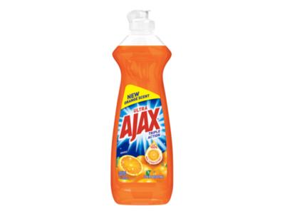 Ajax Triple Action Dish Soap, Orange, 16 fl oz