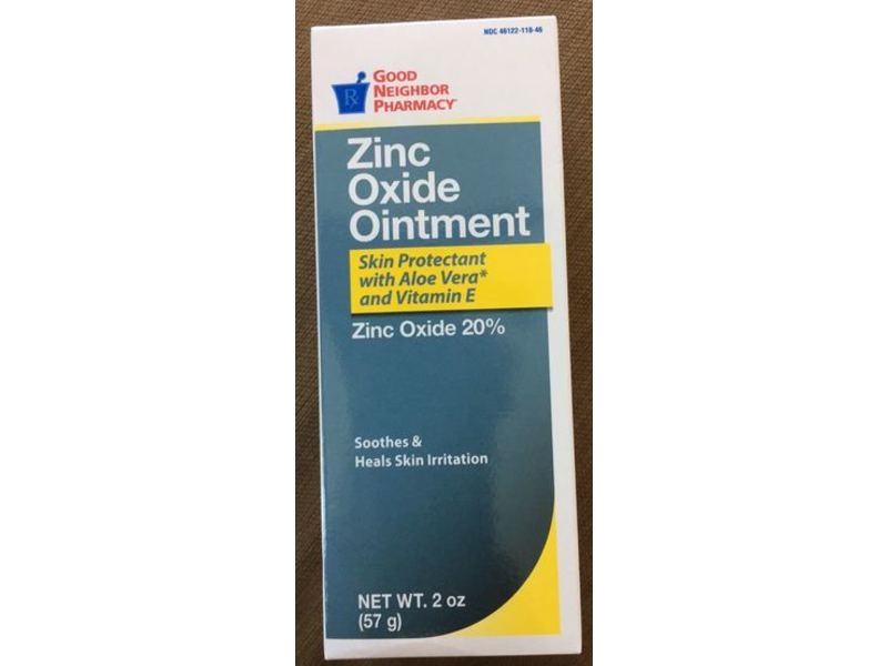 Good Neighbor Pharmacy Zinc Oxide Ointment, 2 oz/57 g