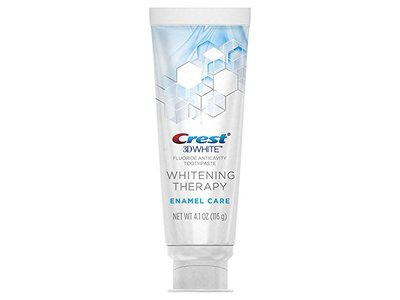 Crest 3D White Whitening Therapy Enamel Care Fluoride Anticavity Toothpaste 4.1 oz (Pack of 2) - Image 4