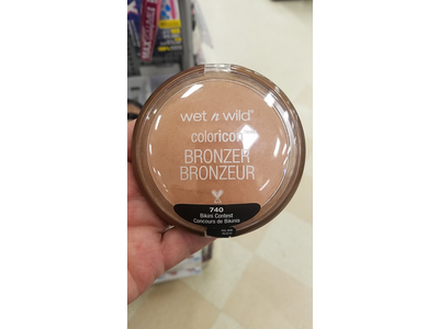 Wet n Wild Color Icon Bronzer SPF 15, 740 Bikini Contest, .46 oz - Image 4