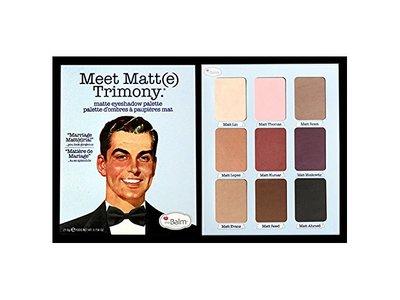 thebalm Meet Trimony Matte Eyeshadow Palette
