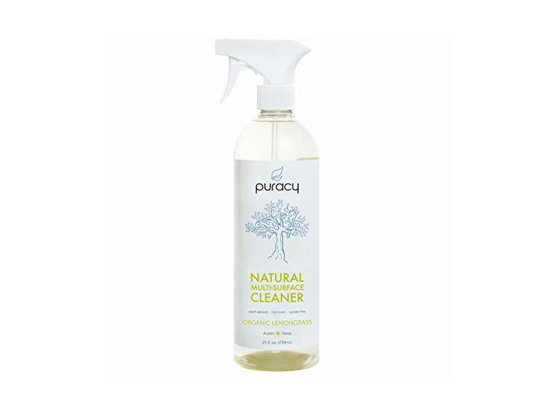 Puracy Natural All-Purpose Cleaner, Streak-Free Household Multi-Surface Spray, 2 oz