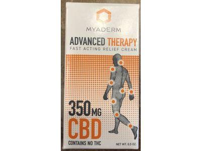 Myaderm Advanced Therapy Relief Cream, 0.5 oz