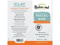 Redmond Bentonite Hydrated Clay Facial Mud Mask, 4 Ounce Tube - Image 6