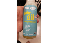 Everyone Soft Skin Organic Baby Oil, Simply Unscented, 4 oz - Image 3
