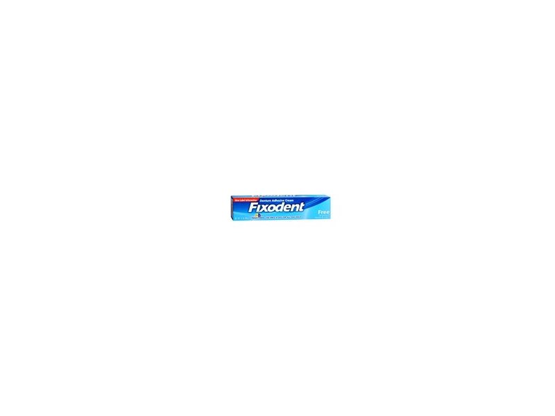 Fixodent Free Denture Adhesive Cream, 2.40 oz