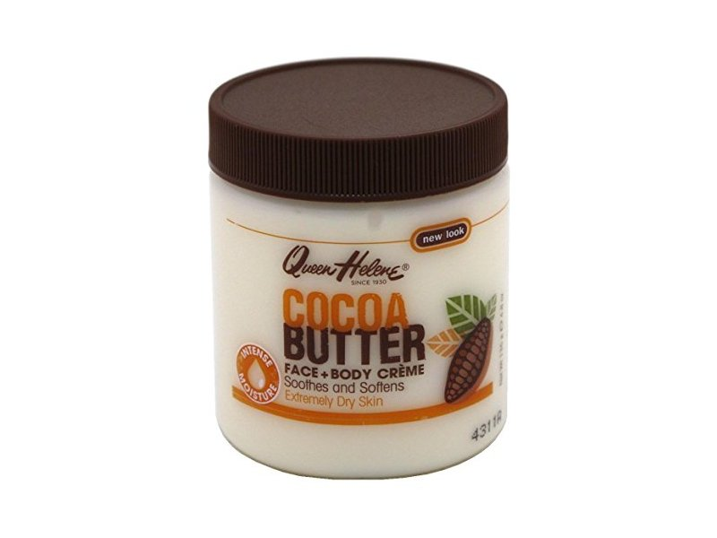 Queen Helene Jar Cocoa Butter Face & Body Creme 4.8 Ounce (142ml) (3 Pack)