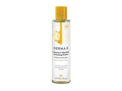 Derma E Vitamin C Micellar Cleansing Water, 6 fl oz