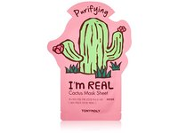 TONYMOLY I'm Real Cactus Purifying Mask Sheet, Pack of 1 - Image 2