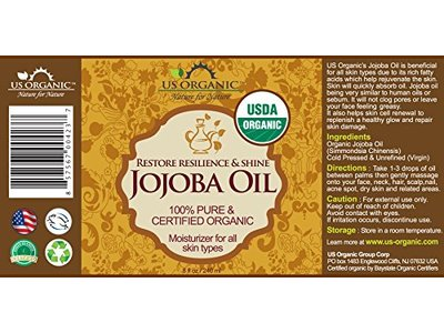 US Organic Jojoba Oil, 8 Ounce - Image 4