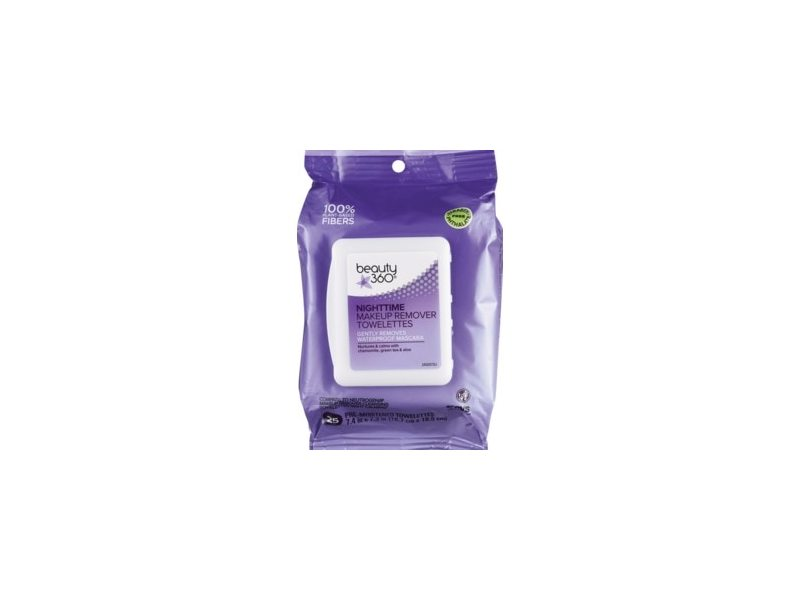 Beauty 360 Night-Time Makeup Remover Cleansing Cloths