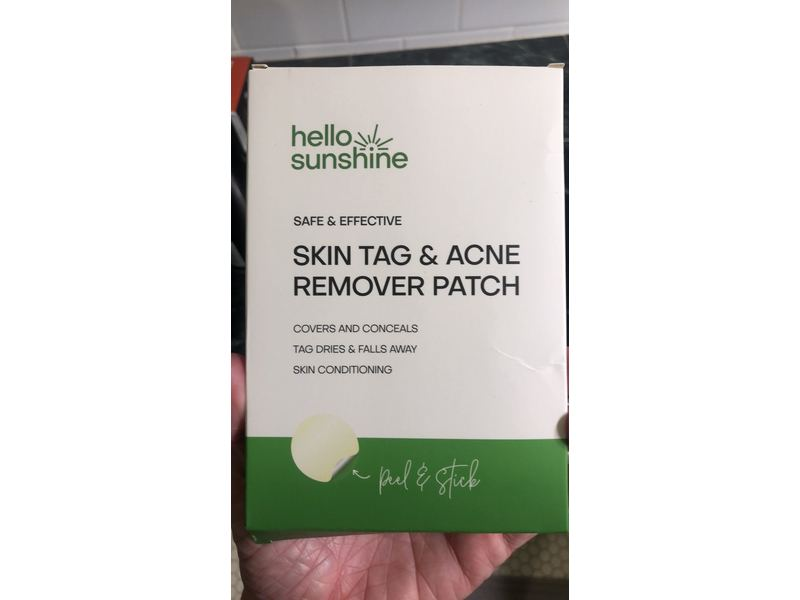 Hello Sunshine Skin Tag Remover Patch Ingredients And Reviews