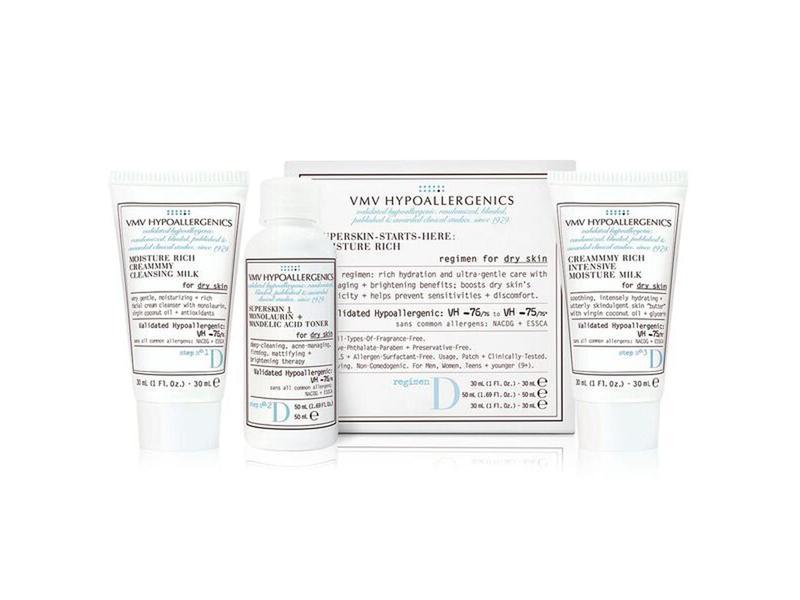 VMV Hypoallergenics Superskin Starts-Here-Set: Moisture Rich for Dry Skin